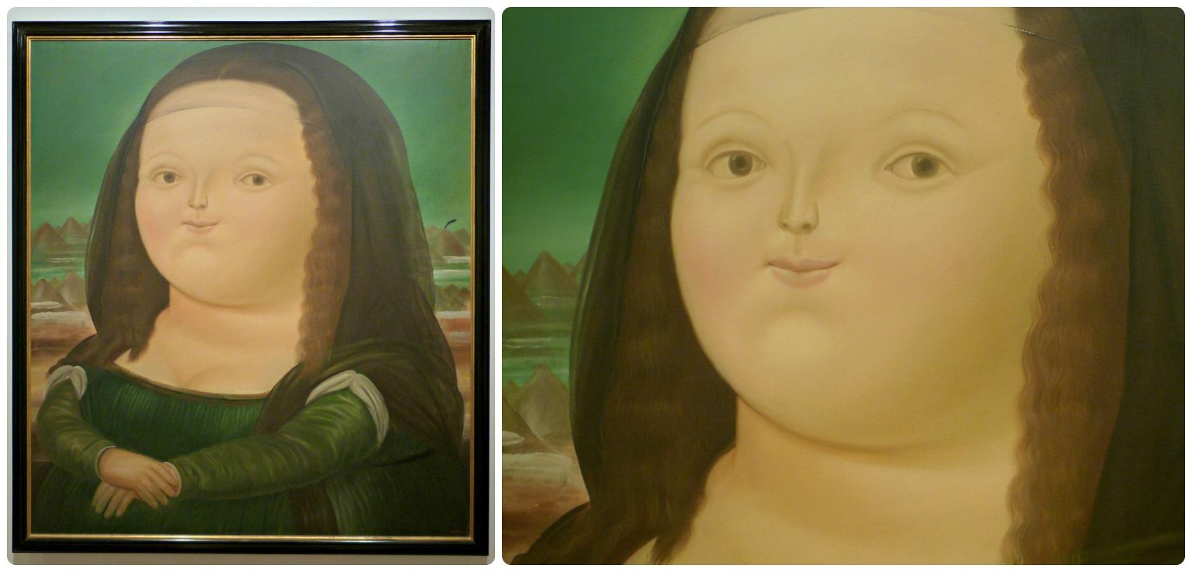 Cuadro en el Museo Botero de Bogotá