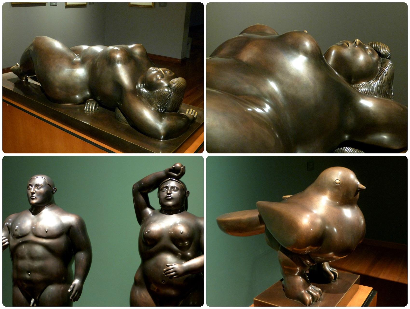 Esculturas de Botero en el Museo Botero de Bogotá
