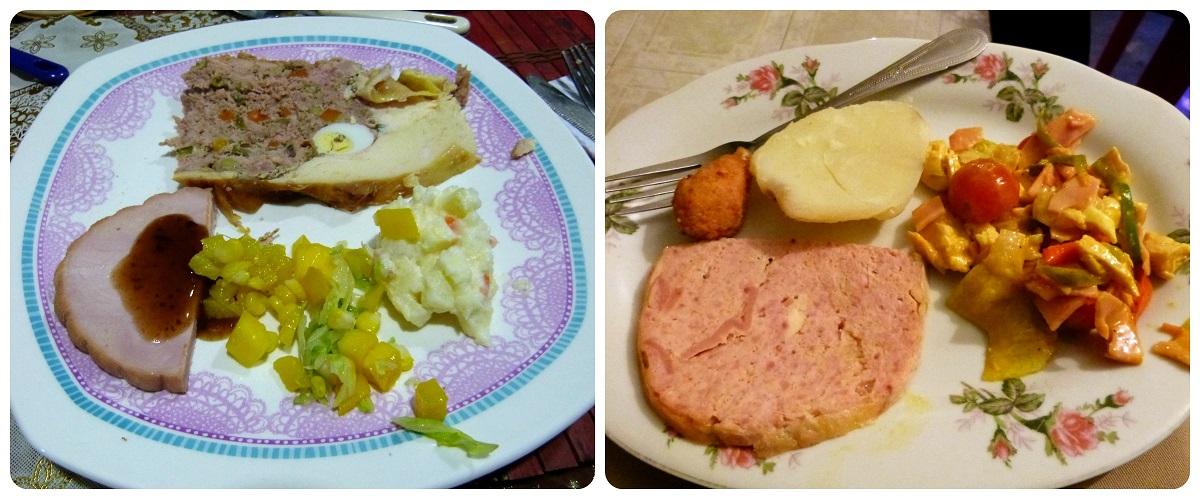Plats que nous avons mangé à Noël et au Nouvel An