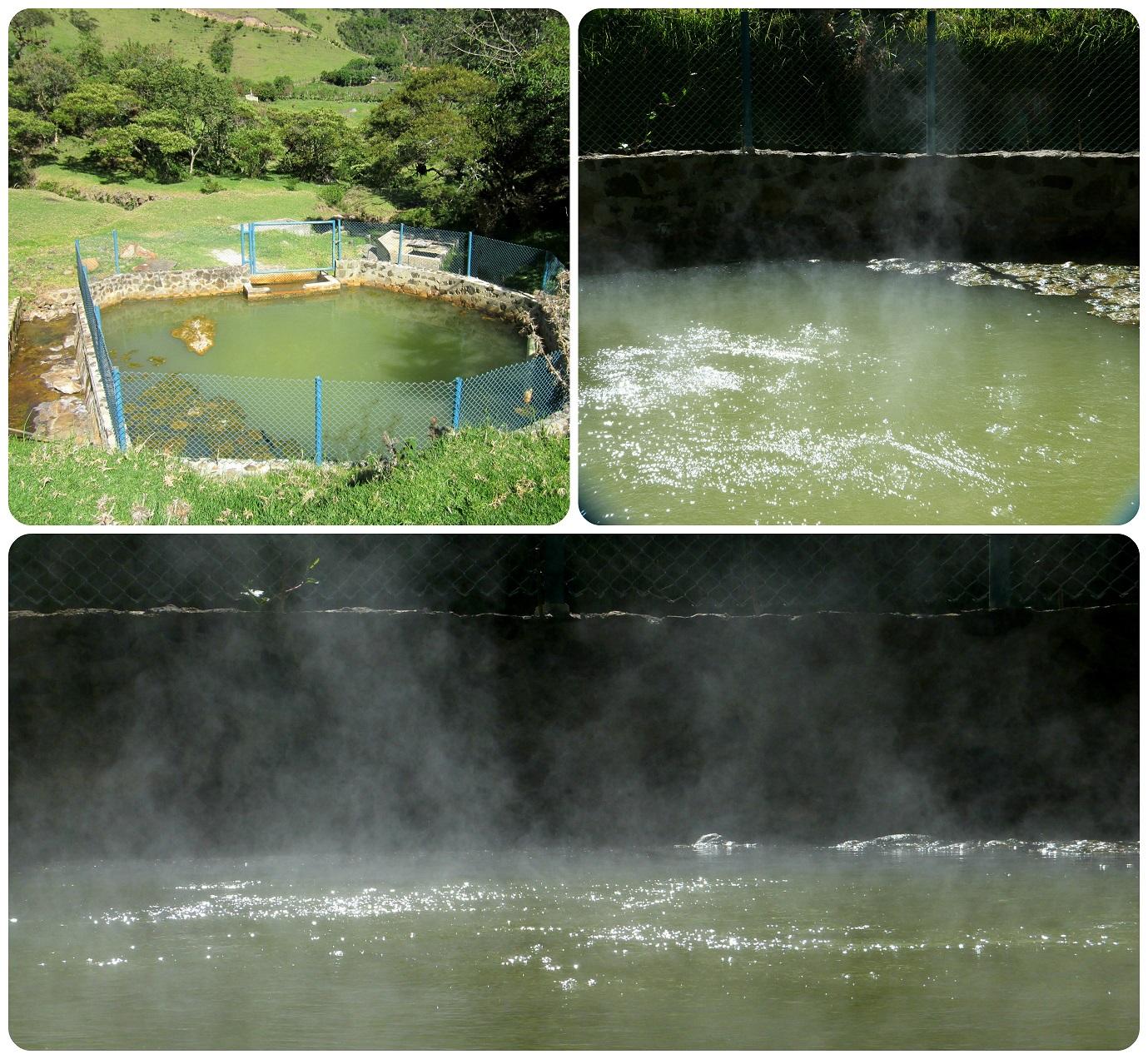 source des eaux chaudes à aguas tibias de Coconuco