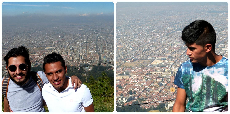 Los primos de Bogotá en lo alto de Guadalupe