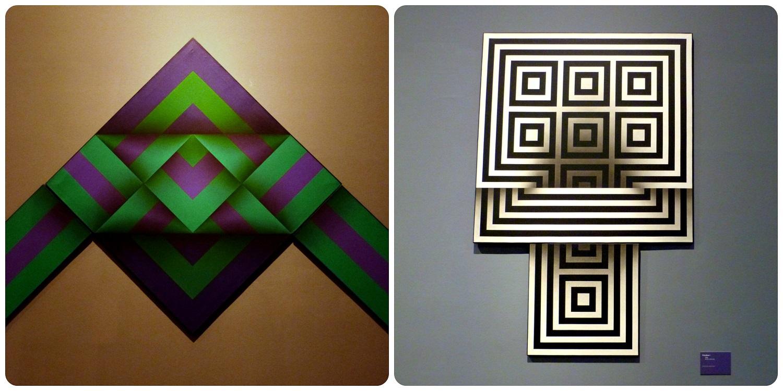 Œuvres d'Omar Rayo au Museo nacional de Colombia de Bogotá